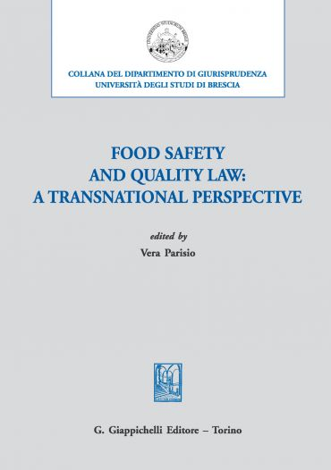 Food safety and quality law: a transnational perspective ePub
