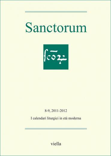 Sanctorum 8-9: Les calendriers liturgiques à l'âge moderne