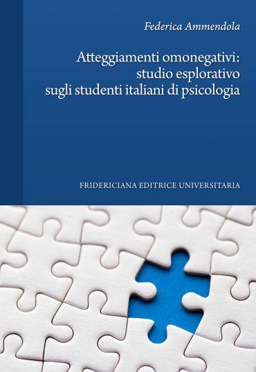 Atteggiamenti omonegativi: studio esplorativo sugli studenti ita