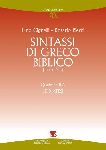 Sintassi di greco biblico (LXX e NT)