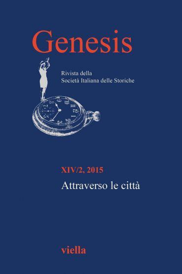 Genesis. Rivista della Società italiana delle storiche (2015) Vo