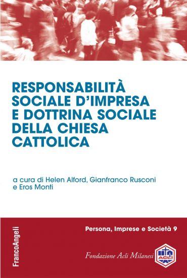 Responsabilità sociale d'impresa e dottrina sociale della Chiesa