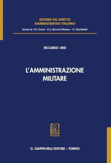 L'amministrazione militare