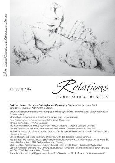 Relations. Beyond Anthropocentrism. Vol. 4, No. 1 (2016). Past t