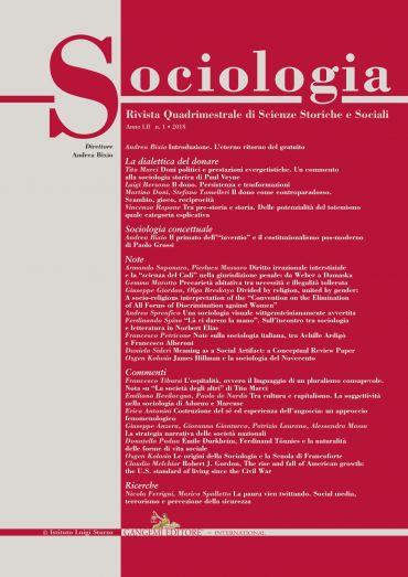 Sociologia n.1/2018 ePub