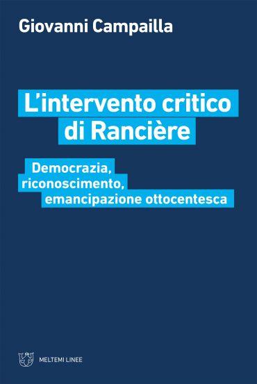 L'intervento critico di Rancière ePub