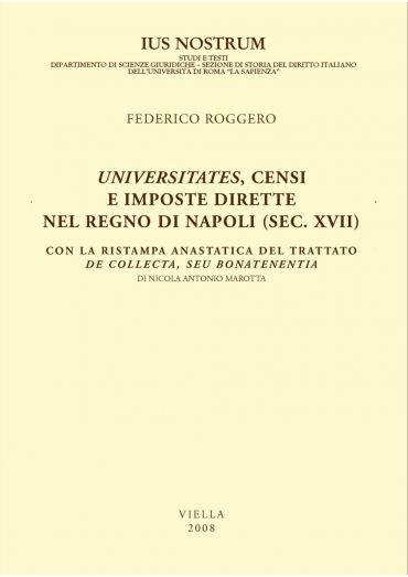 Universitates, censi e imposte dirette nel Regno di Napoli (sec.