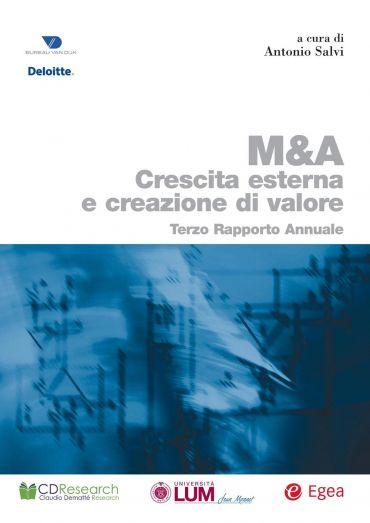 M&A. Crescita esterna e creazione di valore
