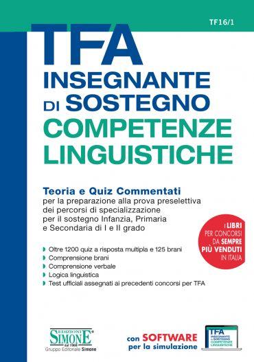 TFA Insegnante di sostegno - COMPETENZE LINGUISTICHE - Teoria e