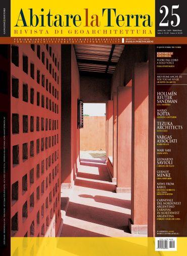 Abitare la Terra n.25/2009. Dwelling on Earth