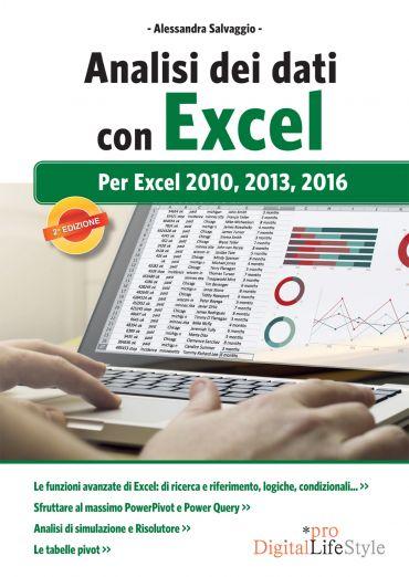 Analisi dei dati con Excel: per Excel 2010, 2013, 2016 ePub