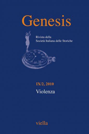 Genesis. Rivista della Società italiana delle storiche (2010) Vo