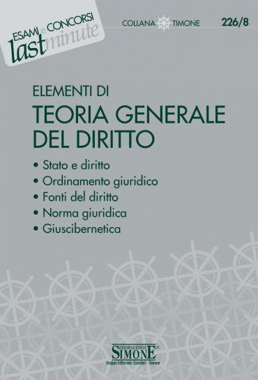 Elementi di Teoria Generale del Diritto