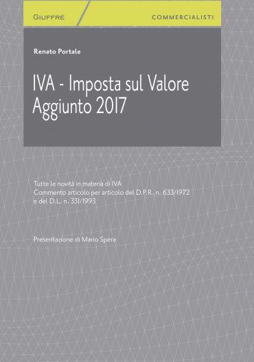 IVA - Imposta sul Valore Aggiunto 2017