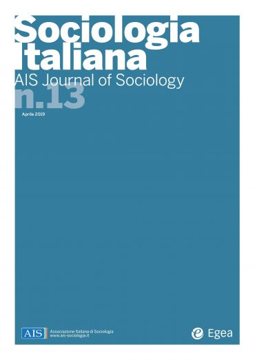 Sociologia Italiana - AIS Journal of Sociology n. 13