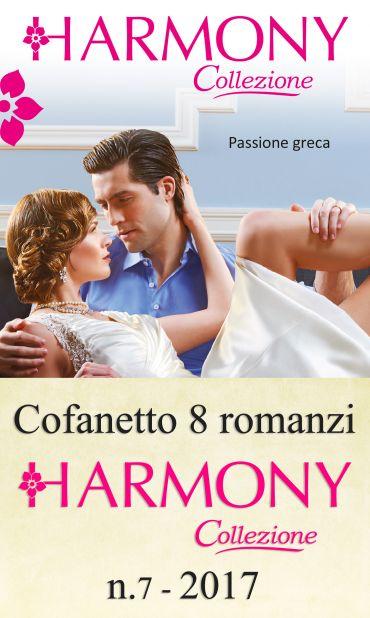Cofanetto 8 Harmony Collezione n.7/2017 ePub
