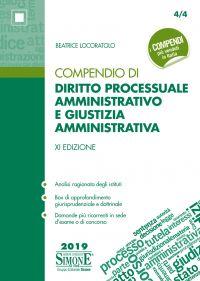 Compendio di Diritto Processuale Amministrativo e Giustizia Ammi