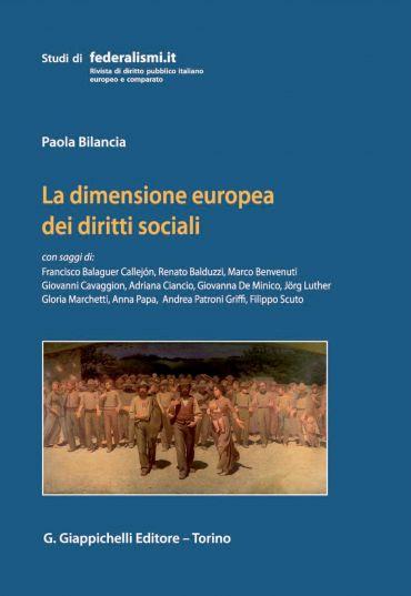 La dimensione europea dei diritti sociali