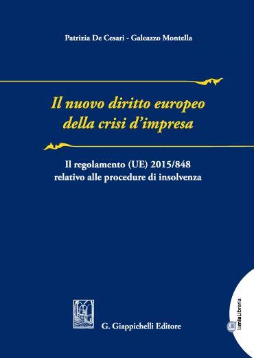 Il nuovo diritto europeo della crisi d'impresa ePub