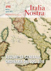 Italia Nostra 498 mar-apr 2018
