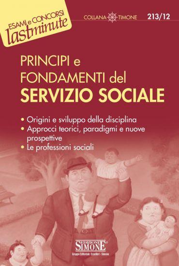 Principi e fondamenti del Servizio Sociale