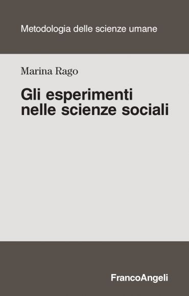 Gli esperimenti nelle scienze sociali ePub