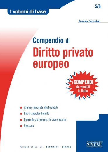 Compendio di Diritto Privato Europeo